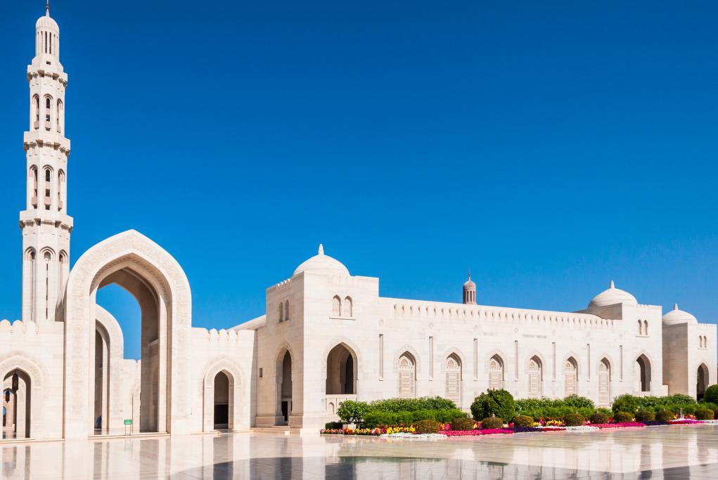 Mezquita Qaboos - Muscat