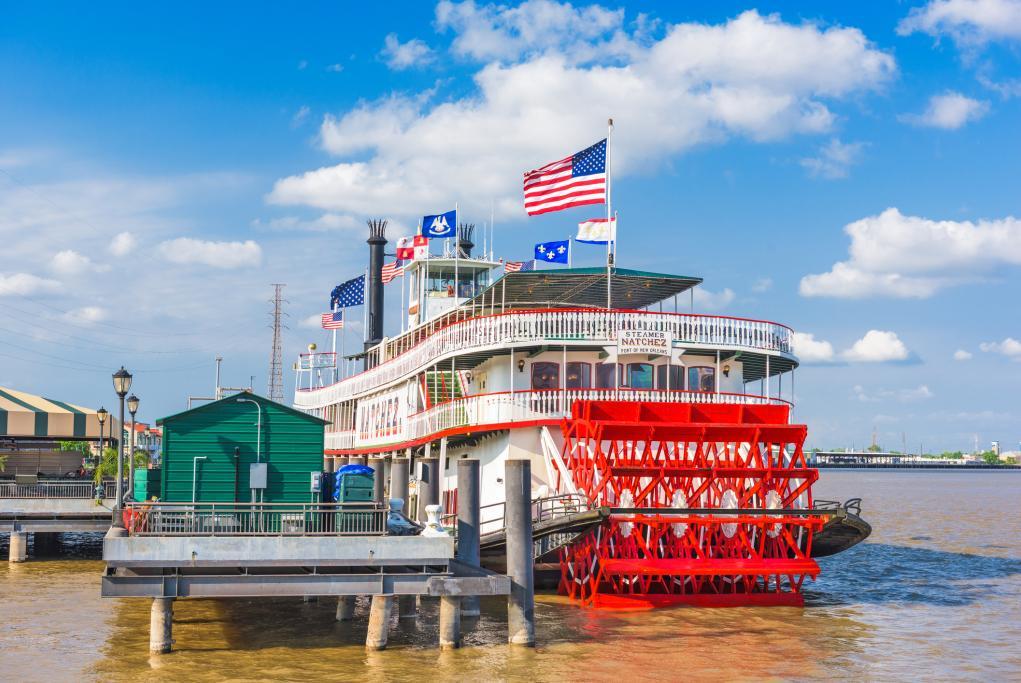 Steamboat - Nueva Orleans