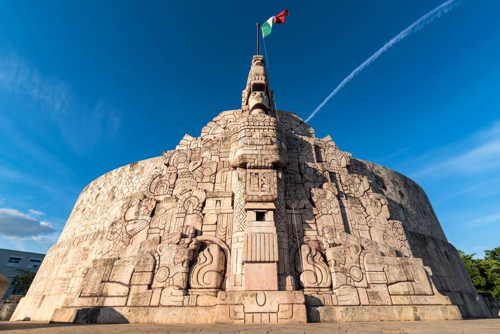 Monumento a la Patria - Merida - Puerto Progreso