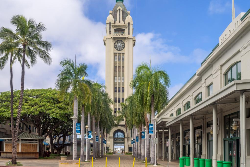 Aloha Tower - Honolulu