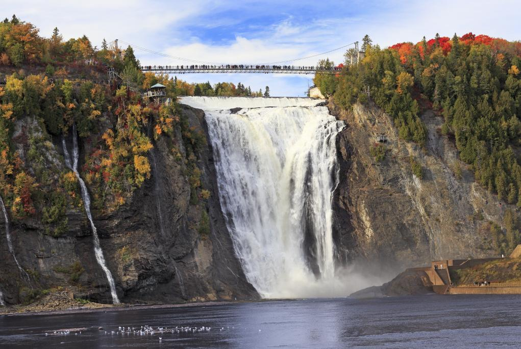 Cascadas de Montmorency - Quebec City