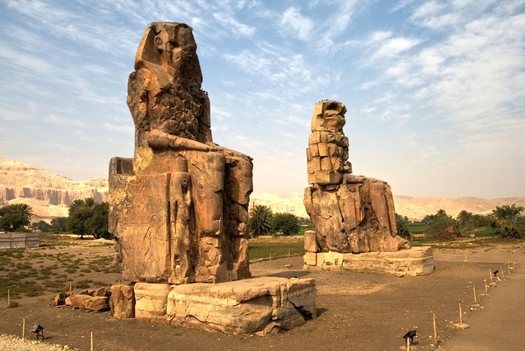 Colosos de Memnón - Luxor