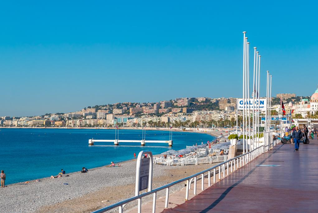 Paseo de los Ingleses - Niza