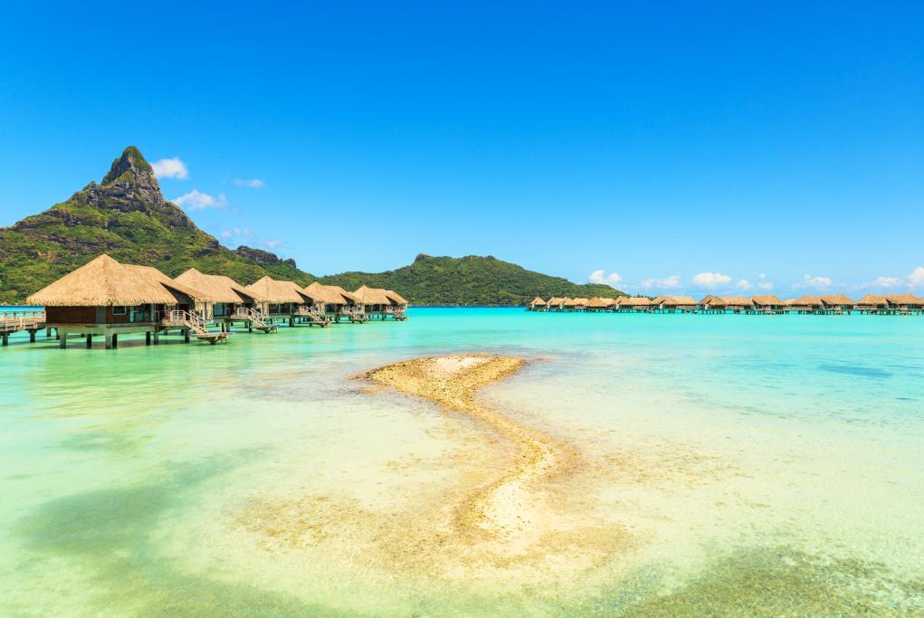 Montaña Otemanu - Bora Bora - Islas de la Sociedad
