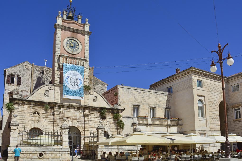 Plaza del pueblo - Zadar