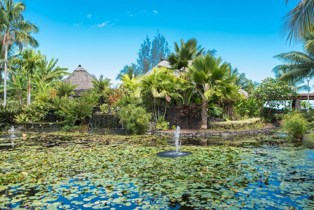 Jardines Pā'ōfa'i - Papeete